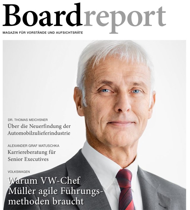 Boardreport-Titelthema