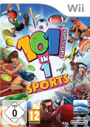 101 in 1 Sports Party Megamix - Cover Wii