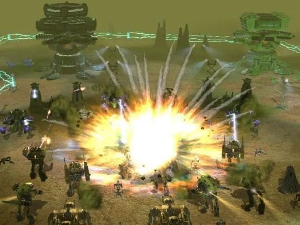 Earth 2160 - Screenshot