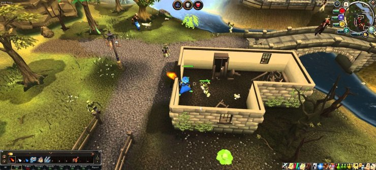 RuneScape HD - Screenshot