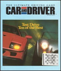 Cover von Car and Driver