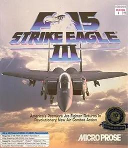 Cover von F-15 Strike Eagle 3