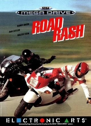 Cover von Road Rash auf dem Mega Drive