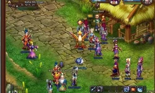 Screenshot aus Forsakia: The Lost Clans