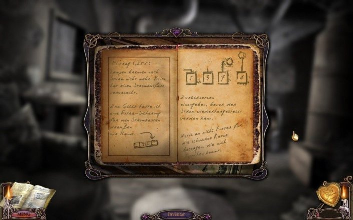 Screenshot aus Mystery Case Files: Flucht aus Ravenhearst