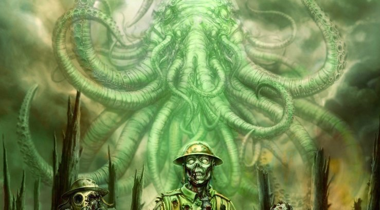 Call of Cthulhu: The Wasted Land Illustration, Bild: Red Wasp Design