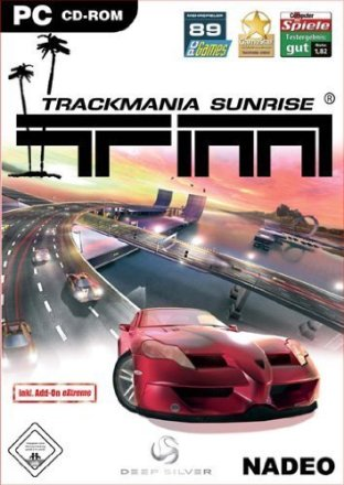 Trackmania Sunrise - Cover