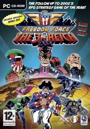 Freedom Force vs. The 3rd Reich - Cover