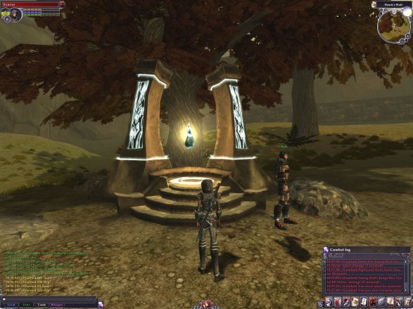 The Chronicles of Spellborn, Screenshot