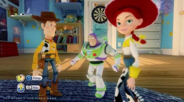 Toy Story 3: Das Videospiel - Andys Zimmer