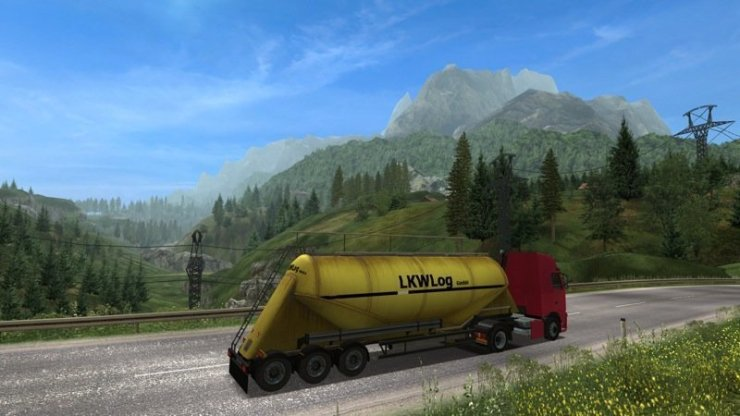 Austrian Truck Simulator - Screenshot