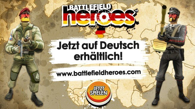 Battlefield Heroes - Deutschlandstart