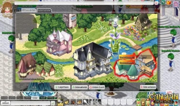 Canaan Online: Prüfung der Vorväter - Screenshot