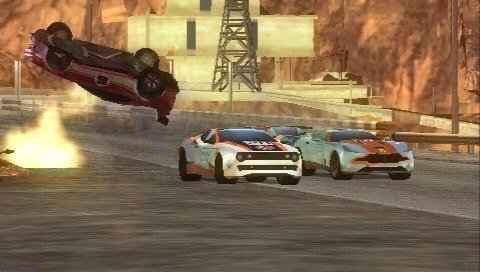 Split/Second: Velocity - Screenshot PSP