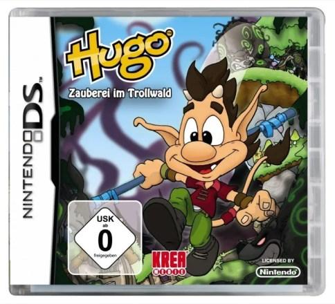 Hugo: Zauberei im Trollwald - Cover NDS