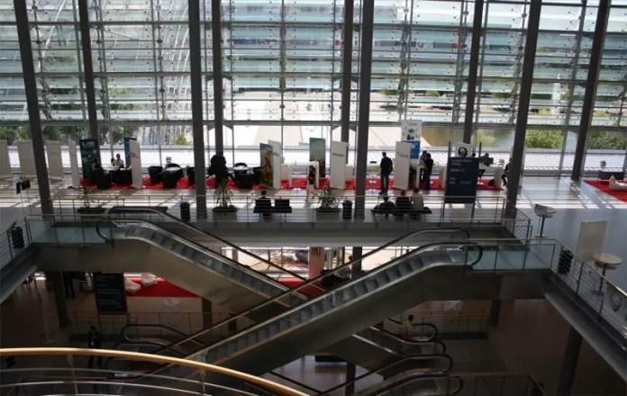 Games Convention Online ohne Besucher, Foto: Markus Stahmann