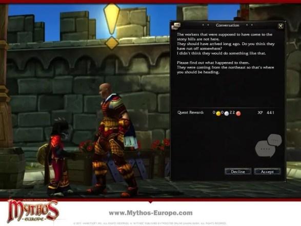 Mythos Europe - Screenshot