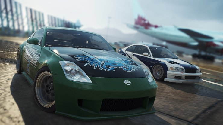 Need for Speed Most Wanted: Heroes - Nissan und BMW