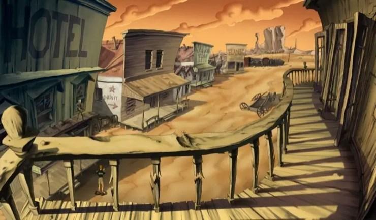 Runaway: A Road Adventure - Screenshot