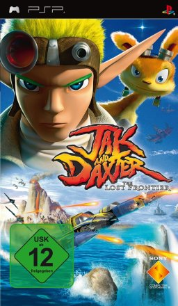 Jak and Daxter: The Lost Frontier - PSP Packshot