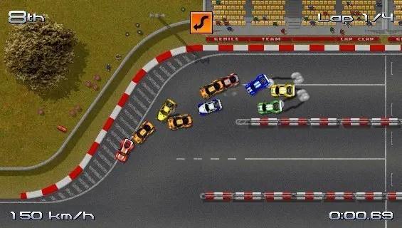 Rush Rush Rally Racing - Reinquetschen