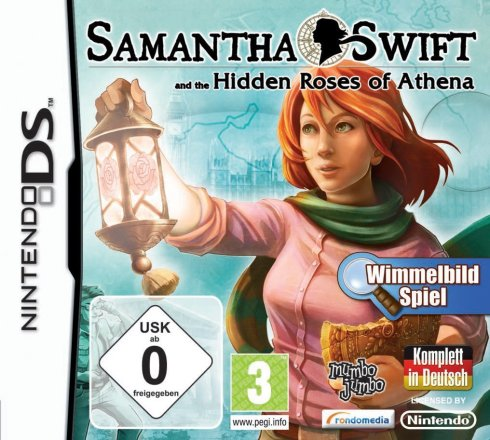 Samantha Swift and the Hidden Roses of Athena - Packshot NDS