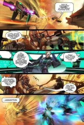 Star Battalion - Comic