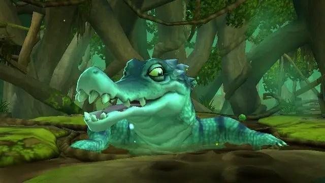 Scooby-Doo! Und der Spuk im Sumpf - Screenshot von Gegnern im Sumpf