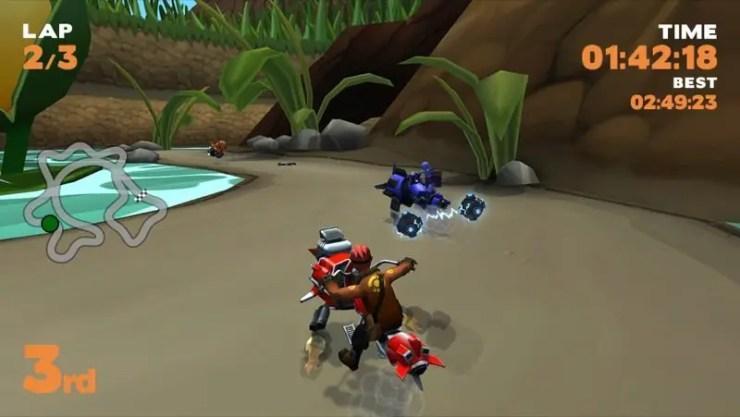 Toon Racer - Screenshot