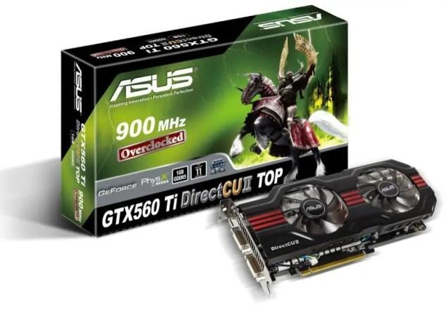 ASUS GeForce GTX560 Ti DirectCU II TOP