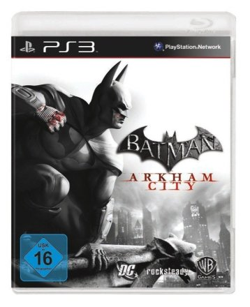 Batman: Arkham City Packshot PS3
