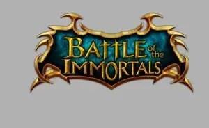 Battle of the Immortals - Logo