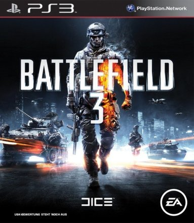 Battlefield 3 - Cover PS3