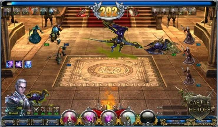 Castle of Heroes - Screenshot