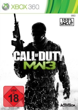 Call of Duty: Modern Warfare 3 - Cover Xbox 360