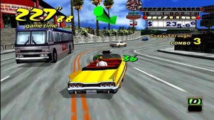 Crazy Taxi - Screenshot