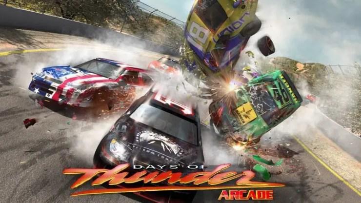 Days of Thunder: Arcade - Splash-Screen