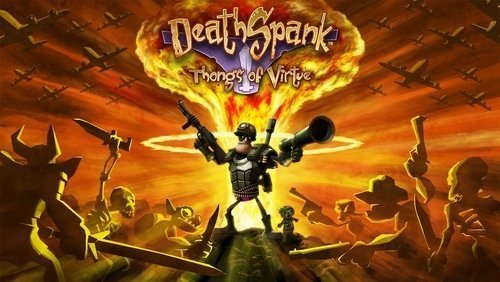 DeathSpank: Thongs of Virtue - Splashscreen