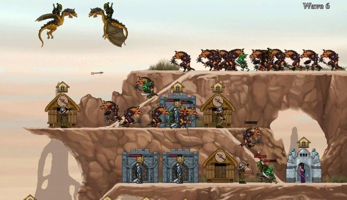 Defender Chronicles HD - Screenshot