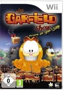 Die Garfield Show - Packshot Wii