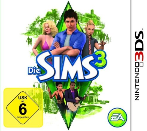 Die Sims 3 - Cover 3DS