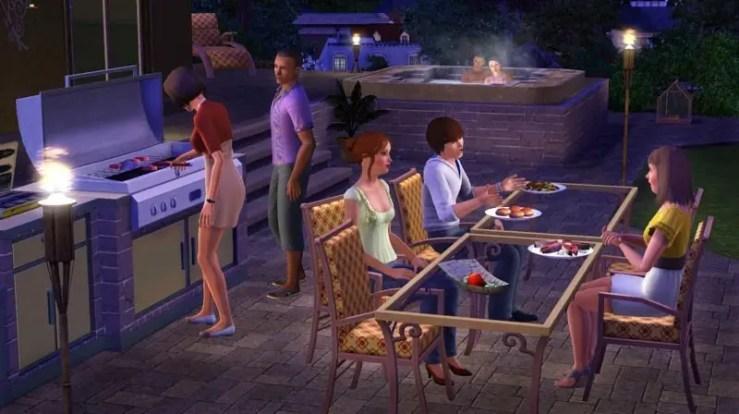 Die Sims 3: Design-Garten-Accessoires - Screenshot