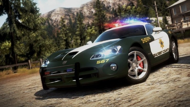 Need for Speed: Hot Pursuit - Dodge Viper Cop Car