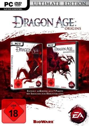 Dragon Age: Origins Ultimate Edition - Cover PC