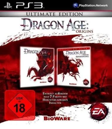Dragon Age: Origins Ultimate Edition - Cover PS3