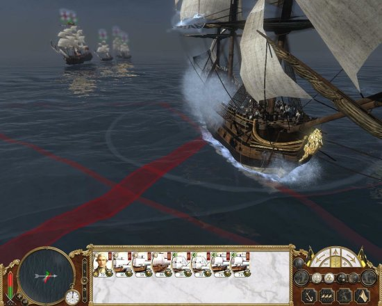 Empire: Total War - Seeschlacht