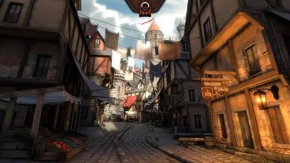 Epic Citadel - Screenshot