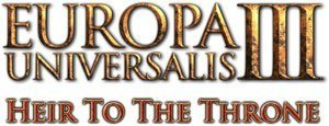 Europa Universalis III - Heir to the Throne - Logo