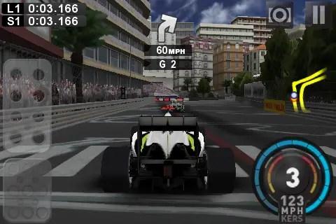 F1 2009 - iPhone-Screenshot