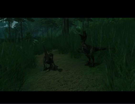 Far Cry: X-Isle - zwei Raptoren